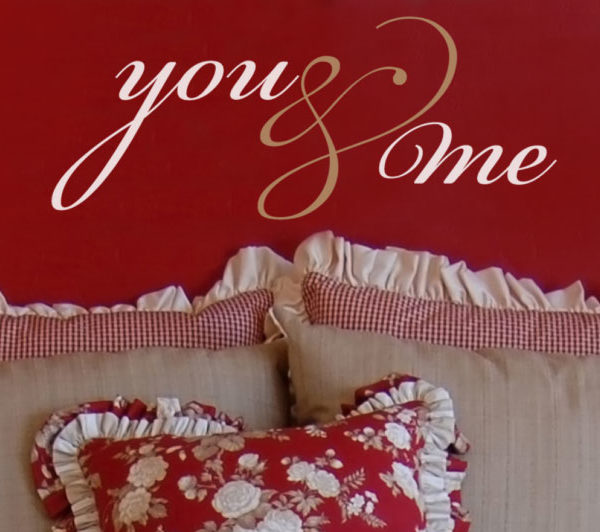 you & me Wall Decal