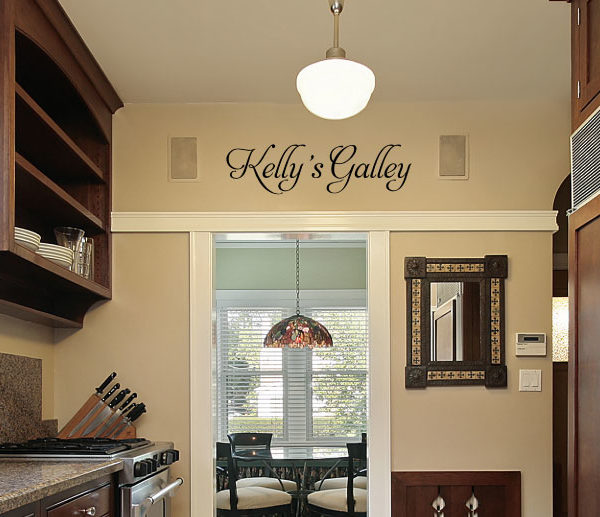 Kelly's Galley Wall Decal