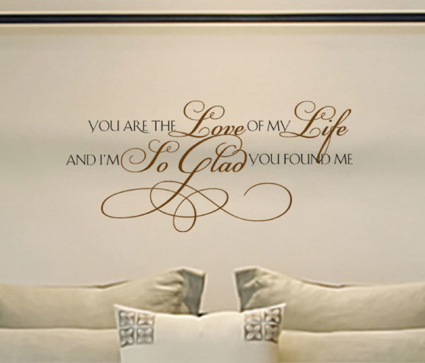 You are the Wall Decal