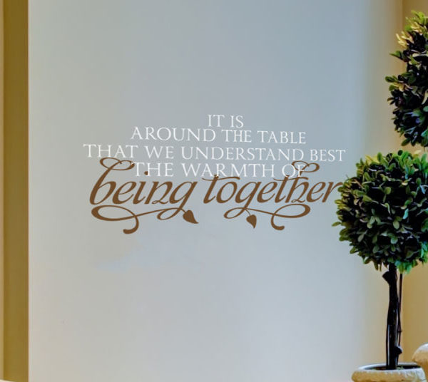 It is around Wall Decal