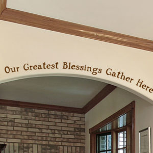 Our Greatest Blessings Wall Decal
