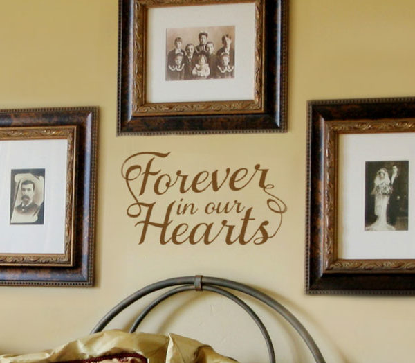 Forever in our Wall Decal