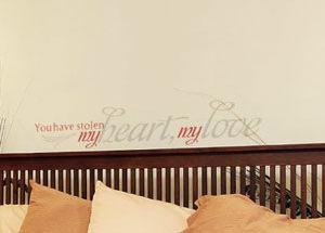 You have stolen Wall Decal