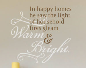 In happy homes Wall Decal
