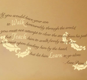 If you would Wall Decal