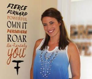 Fierce Forward Wall Decal