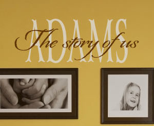 The story of Wall Decal