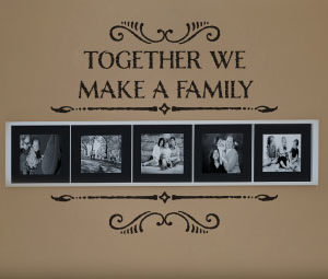 Together we make Wall Decal