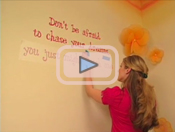 Video on how to apply vinyl letters
